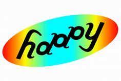 happy ambigram