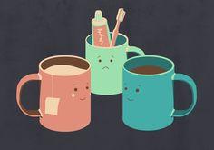 Mugs  by Teo Zirinis