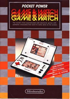 Nintendo Game & Watch - Pocket Power