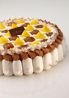 Iginio Massari   Monte Bianco Beautiful Desserts, Beautiful Cakes, Cupcake Cookies, Cupcakes, Gluten Free Baking, Something Sweet, Food Design, Food Art, Cake Recipes