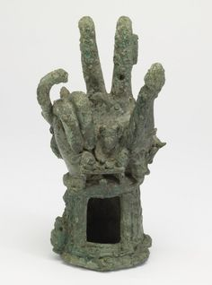 Bronze Hand of Sabazius Roman 3rd Century AD Sabazius was an eastern god of fertility and vegetation, who in Roman times was worshiped in association with other deities, particularly Dionysus (or Bacchus, as he was generally known to the Romans). His cult inspired a series of votive images of hands, the fingers of which form the gesture of benediction still familiar in Christian practice.