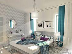 Subtelna sypialnia glamour - zdjęcie od Anna Przybylska Design - Sypialnia - Styl Glamour - Anna Przybylska Design