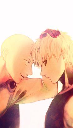 Saitama and Genos - OPM