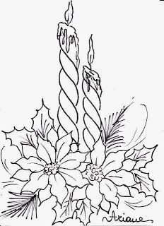 chrismas coloring flowers - Google Search
