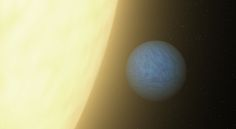 """NASA's Spitzer Sees the Light of Alien 'Super Earth': """"PASADENA, Calif. - NASA's Spitzer Space Telescope has detected light emanating from a """"super-Earth"""" planet beyond our solar system for the first time. While the planet is not habitable, the detection is a historic step toward the eventual search for signs of life on other planets."""""""