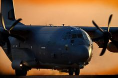 An MC-130J Commando II from the 9th Special Operations Squadron taxis for departure in support of exercise Emerald Warrior on 29 April 2015 at Melrose Air Force Range, New Mexico. Photo by SSgt. Matthew Plew