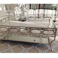 @nsinteriordesign added our Abigail Coffee Table to one of her client's spaces. Looks stunning so far!