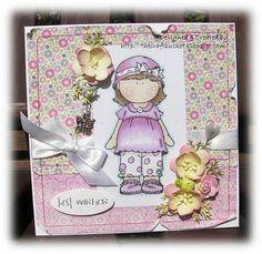 Hanglar Girl ... http://thecraftbucket.blogspot.co.uk/