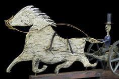 19th century horse & sulky