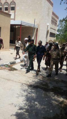 #اليمن | قائد شرطة شبوه يزور فرع البنك المركزي بالمحافظة