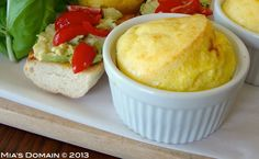 Mias Domain | Rustic Modern Cuisine: Cheesy Egg Soufflé Best Gluten Free Recipes, Low Carb Recipes, Real Food Recipes, Free Breakfast, Breakfast Recipes, Egg Souffle, Cheesy Eggs, Gluten Free Kitchen, Good Food