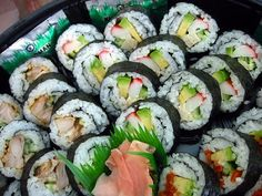 Sushi: California Roll Recipe | Key Ingredient