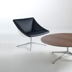 C.R. Lounge Chair and Table Series - New for NeoCon 2012