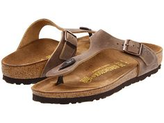 393c511f1eed Birkenstock gizeh oiled leather tobacco oiled leather