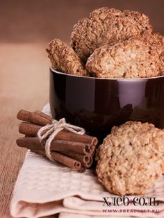 Овсяное печенье с корицей