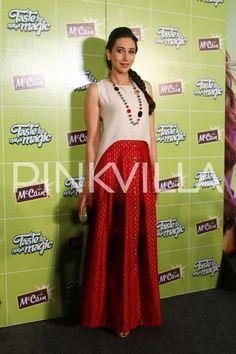 Yummy Mummy Karisma Kapoor Spotted At a Food Brand Press Interaction | PINKVILLA