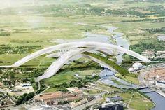 Skidome Denmark by Cebra as Architect