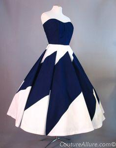 1950s Renee Marciel cotton dress. like