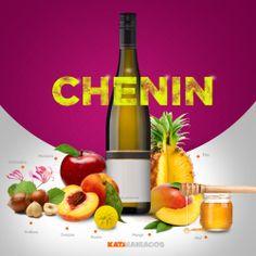 Chenin Blanc nos da muchos aromas, muchos frutales y cítricos! Aquí les dejamos los sabores que podemos encontrar