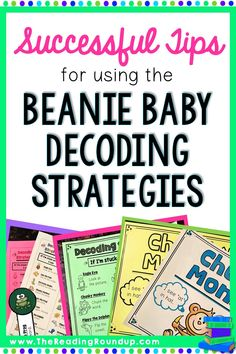 The Beanie Baby Reading Strategies are an extremely effective strategy to help students decode. Find out some new tips to help further improve your guided reading instruction. Guided Reading Groups, Reading Resources, Teaching Reading, Kindergarten Reading, Guided Reading Strategies, Teaching Tips, Spelling Activities, Phonics Worksheets, Alphabet Activities