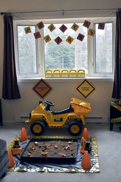 Digger Party - still trying to decide what to do for Sam's birthday!