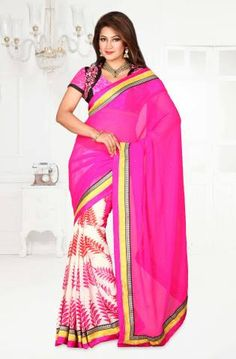 Beautiful Pink Saree available at heavy discounted rates. Get Flat 10% OFF on purchase of INR 1000/- & above Flat 15% OFF on purchase of INR 2500/- & above  Flat 20% OFF on purchase of INR 5000/- & above Visit now and avail the offer at https://www.vessido.com/product-category/all/sarees/ #saree #onlineshopping #designerclothing #megasale