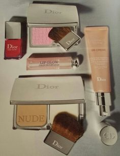 Dior makeup. The perfect products for a natural look yet a pop of color