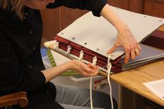 Coptic Bookbinding Workshop | Flickr - Photo Sharing!