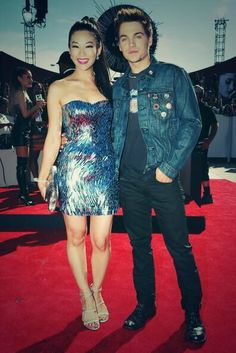 Dylan Sprayberry, Arden Cho, Max Carver, Holland Roden and Tyler Posey attend the 2014 MTV Video Music Awards at The Forum on August 2014 in Inglewood, California. Teen Wolf Cast, Teen Wolf Boys, Teen Wolf Dylan, Dylan Sprayberry, Tenn Wolf, Cristal Reed, Meninos Teen Wolf, Charlie Carver, Arden Cho