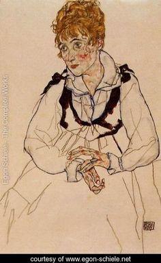 Frau Schiele, Egon Schiele