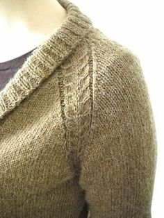 Great blog entry on designing a raglan sweater and the math. No pattern but a great entry --- and I love (covet) the name of her blog!