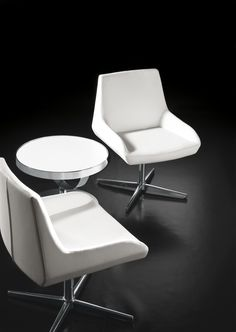 Crystal chairs from Sandler Seating