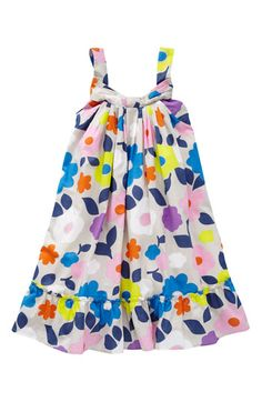 Mini Boden Print Dress (Little Girls & Big Girls) | Nordstrom