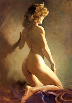 Nude - Frank Frazetta 1985