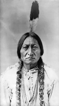 """Sitting Bull (""""Tȟatȟáŋka Íyotake"""", um 1831-1890)"""