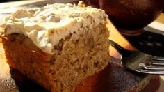 Maple Walnut Cake a few changes and its #vegan