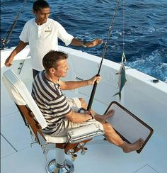 Deep sea fishing- what a catch!