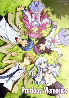 Angel beats. Such an awesome show. I seriously wasn't expecting such a great storyline ending