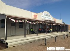 The original Crocodile Dundee Walkabout Creek Hotel in McKinlay was a great place to visit on the way through to Mount Isa.... #travel #queensland #crocodiledundee #movie #film #hotel #thisisqueensland
