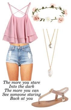 """Untitled #574"" by maryanarivera ❤ liked on Polyvore featuring Wet Seal, With Love From CA and Accessorize"
