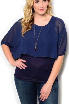 http://www.dhstyles.com/Navy-Plus-Size-Dressy-Fitted-Sheer-Layered-Chiffon-p/blue-6180x-navy.htm