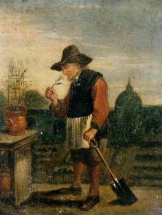 """СЕРИИ """"ПЯТЬ ЧУВСТВ"""" David Teniers II Five senses - Smell (Обоняние)."""