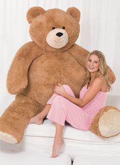 6u0027 Giant Hunka Love® Bear I WANT It   Only $199.99!