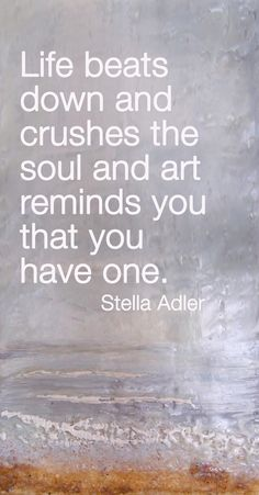 Small Breaks encaustic painting by Victoria Primicias. Click on http://arte-cera.com for more. #art #quotes
