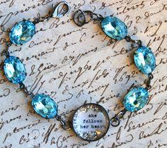 She follows her heart bracelet, Beth Quinn...another fav!