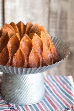 Brown Butter Bourbon Bundt Cake  Have to find this bundt pan!