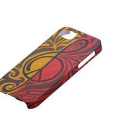iPhone Case 5 4S 4 3GS Music Peace Rocks Protective by Inspireuart, #cellphonecase, #iphones, #cases