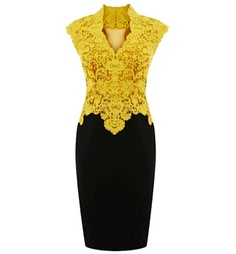 Pencil Lace Formal Dress by UsTrendy #dress #SpecialOccasion #fashion