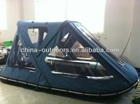 inflatable boat bimini top with tent $120max 50 sets min