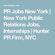 Public Relations Jobs Nyc Fashion